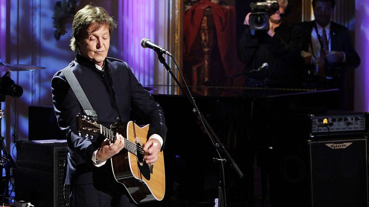 """Paul McCartney Performs """"Hey Jude"""" At The White House – But No One Expected This Ending… 
