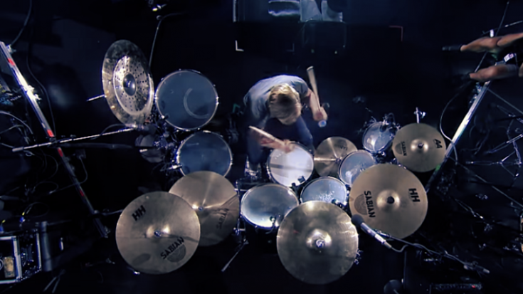 Nic Collins Takes Over Drumming For Dad In Rock's Most Famous Drum Fill | I Love Classic Rock Videos