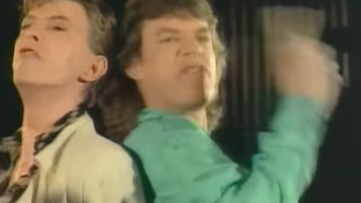 Funny Clip Of David Bowie Doing An Impression Of Jagger | I Love Classic Rock Videos