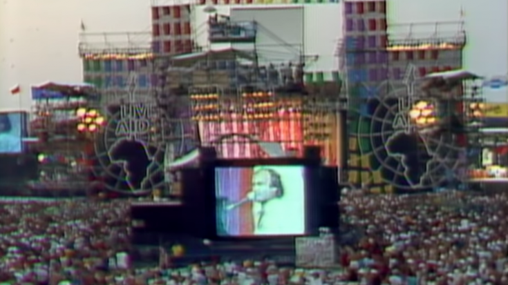 "A Stripped Down ""In The Air Tonight"" For 100K Live Aid Fans Is Superb 