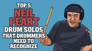 Top 5 Neil Peart Drum Solos That Drummers Need To Recognize