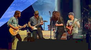 """Foo Fighters, Zac Brown, & Tom Morello's Cover Of """"War Pigs"""" Was The Highlight Of Super Bowl Weekend"""