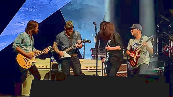 "Foo Fighters, Zac Brown, & Tom Morello's Cover Of ""War Pigs"" Was The Highlight Of Super Bowl Weekend 