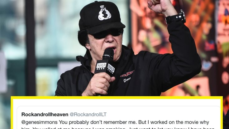 Gene Simmons May Have Saved A Fan's Life Just By Yelling At Him – This Is Wild   I Love Classic Rock Videos