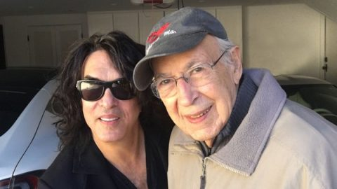 Paul Stanley's Dad Watched A KISS show – He's 98 | I Love Classic Rock Videos