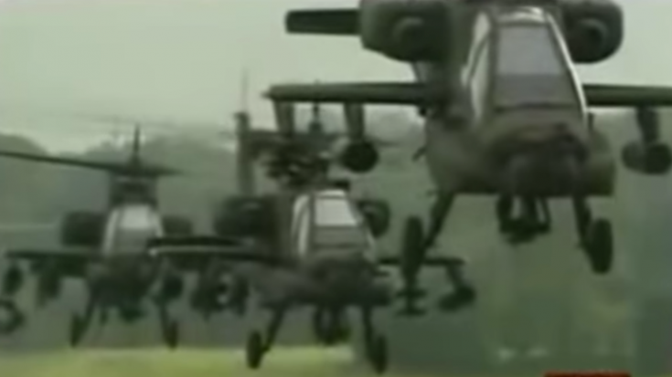 "AC/DC ""Thunderstruck"" Goes Perfectly With Attack Helicopter Footage 