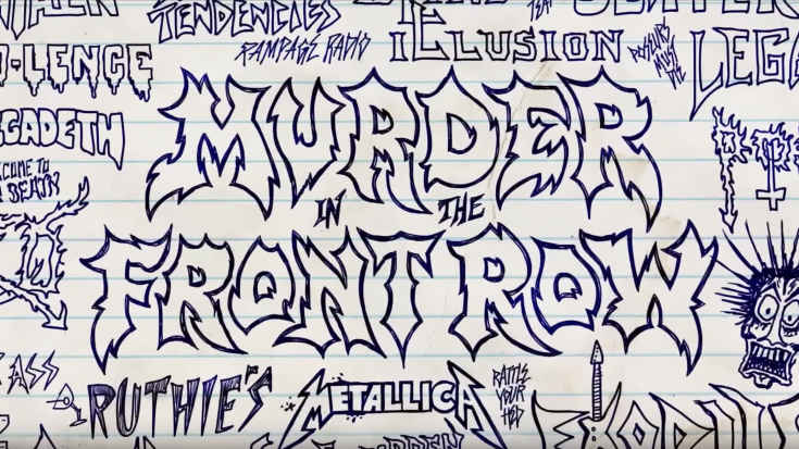 Trailer For 'Murder In The Front Row' Reveals The TRUTH About Thrash Metal | I Love Classic Rock Videos