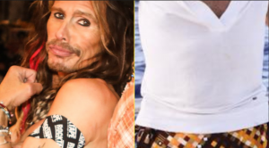 Steven Tyler Shows Off Bold Earth Day Outfit – Wait…Is That A Skirt?