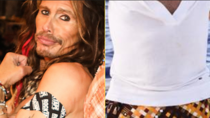 Steven Tyler Shows Off Bold Earth Day Outfit – Wait…Is That A Skirt? | I Love Classic Rock Videos