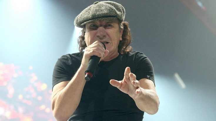 AC/DC Producer In The Studio – Brian Johnson Singing?   I Love Classic Rock Videos
