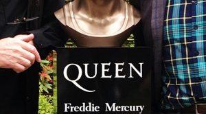 Brian May Unveils Stunning New Freddie Mercury Sculpture For Queen Exhibition