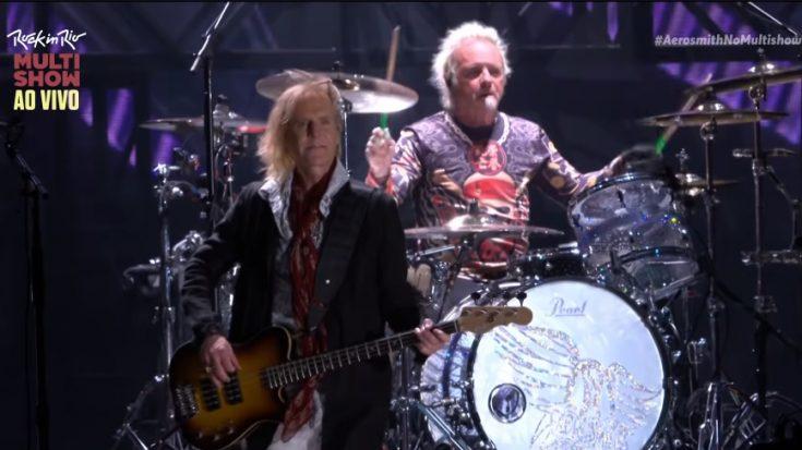 Aerosmith's Drummer Misses Vegas Show- Fans Voice Concern | I Love Classic Rock Videos