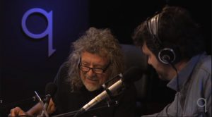 Watch Robert Plant's Reaction To An 8yr Old Drummer!