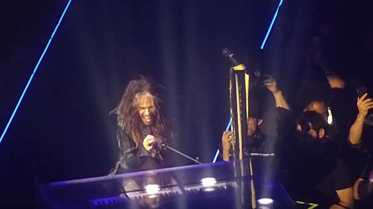 Hidden Camera Catches First Glimpse Of Aerosmith's Las Vegas Residency – Here's How They Sound | I Love Classic Rock Videos