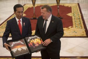 Indonesian President Joko Widodo Received The Most Metal Gift Ever!