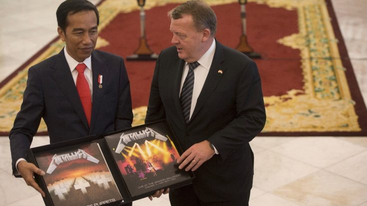 Indonesian President Joko Widodo Received The Most Metal Gift Ever! | I Love Classic Rock Videos
