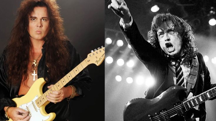 Yngwie Malmsteen's Opinion About Angus Young's Guitar Playing | I Love Classic Rock Videos