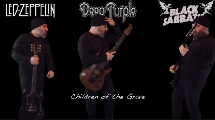 This Guy Squared Off Led Zeppelin vs Deep Purple vs Black Sabbath – Epic Guitar Battle | I Love Classic Rock Videos