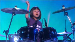 Dave Grohl Gives Surprise Message To Nine Year Old Drum Prodigy