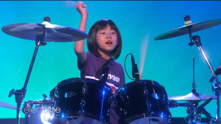 Dave Grohl Gives Surprise Message To Nine Year Old Drum Prodigy | I Love Classic Rock Videos