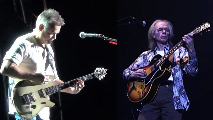 Guitar Riff Off: Steve Howe vs. Eddie Van Halen – Who do you choose? | I Love Classic Rock Videos