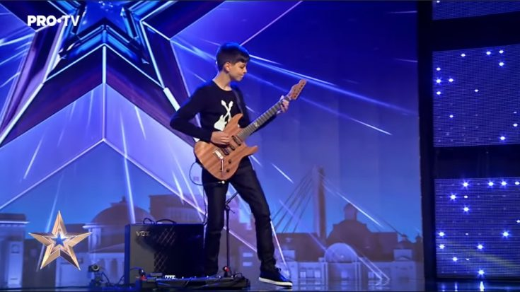 Kid Guitarist Melts Faces With Jimi Hendrix Cover In Romania's Got Talent 2019 | I Love Classic Rock Videos