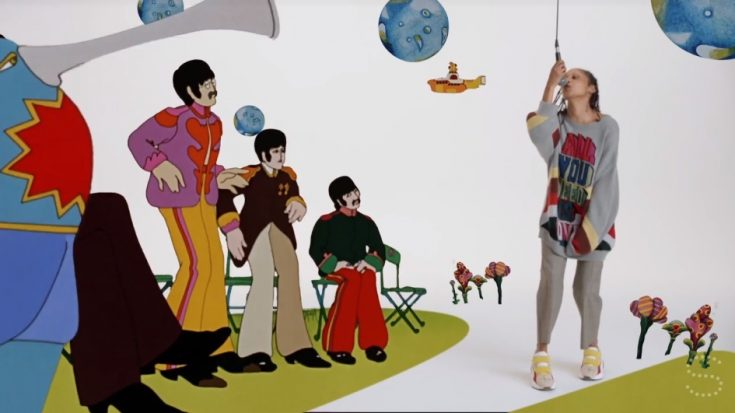 Paul Mccartney S Daughter Releases New Fashion Collection Inspired By Yellow Submarine I Love Classic Rock