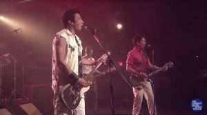 """Kevin Bacon Joins Jimmy Fallon To Perform A """"First Draft"""" Of The Clash Classic"""