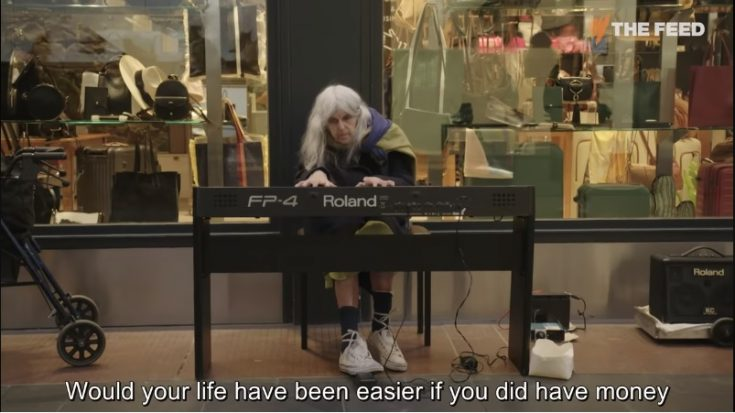 Watch The 84 Year Old Street Pianist's Musical Journey In A Foreign Land | I Love Classic Rock Videos