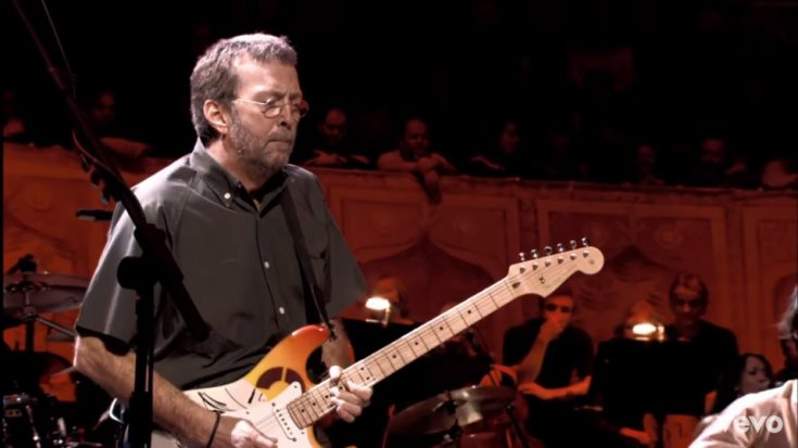 "Watch Paul McCartney And Eric Clapton Perform ""While My Guitar Gently Weeps"" 