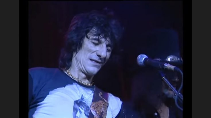 "A ""Brutally Honest"" Ronnie Wood Documentary Will Come Out IN October 