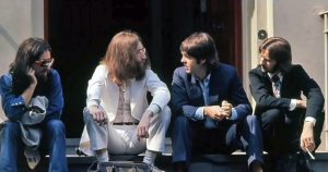 The Beatles top the charts again with Abbey Road