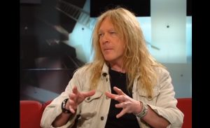 Iron Maiden Guitarist Janick Gers Accidentally Sent His Guitar Flying