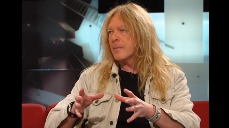 Iron Maiden Guitarist Janick Gers Accidentally Sent His Guitar Flying | I Love Classic Rock Videos