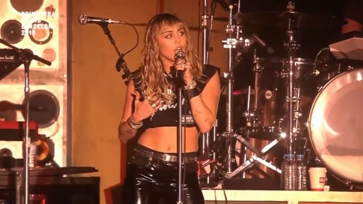 Led Zeppelin And Pink Floyd Covered By Miley Cyrus | I Love Classic Rock Videos