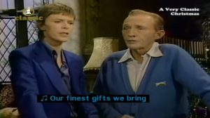 Relive David Bowie & Bing Crosby's Little Drummer Boy