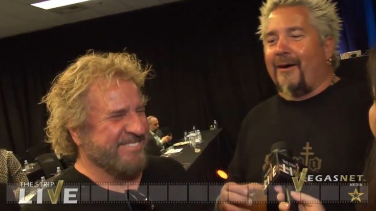 New Tequila Brand Launched By Sammy Hagar And Guy Fieri | I Love Classic Rock Videos