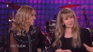 Stevie Nicks And Sheryl Crow Performs On Ellen – Watch