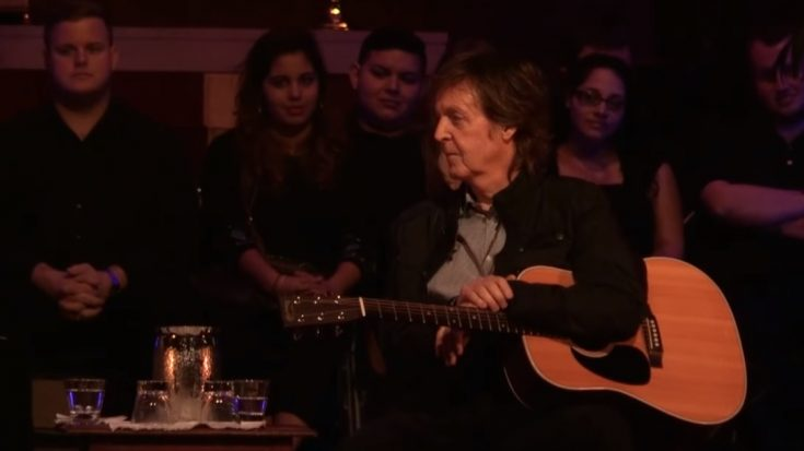 """Paul McCartney's """"High In The Clouds"""" Will Be Released On Netflix 