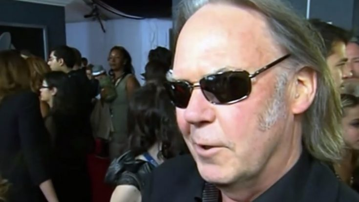 Neil Young Becomes A U.S. Citizen | I Love Classic Rock Videos