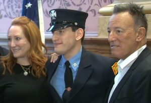 Bruce Springsteen's Son Becomes Firefighter