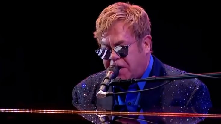 Elton John Was Forced To End Concert Due To Hail And Rain | I Love Classic Rock Videos