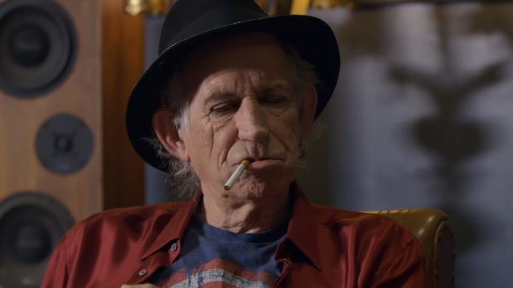 Keith Richards Quits Smoking | I Love Classic Rock Videos