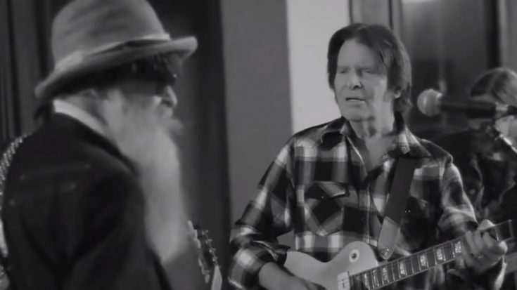 "Watch | John Fogerty & ZZ Top Studio Jam For ""Blues and Bayous Tour"" 