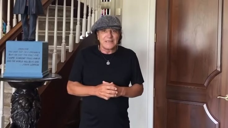 News | AC/DC's Brian Johnson Sends Video Message For Bonfest | I Love Classic Rock Videos