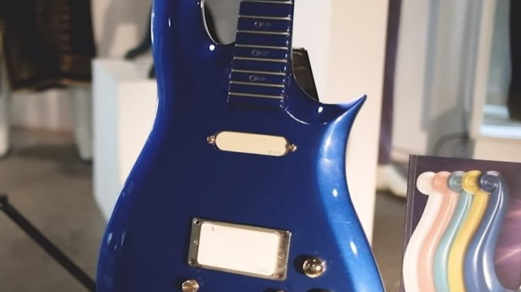 "Prince's ""Blue Angel"" Cloud 2 Guitar Sells For $563,000 