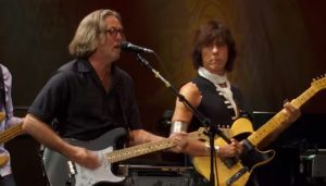Watch Eric Clapton & Jeff Beck Perform 'Shake Your Moneym,aker' from Crossroads Guitar Festival