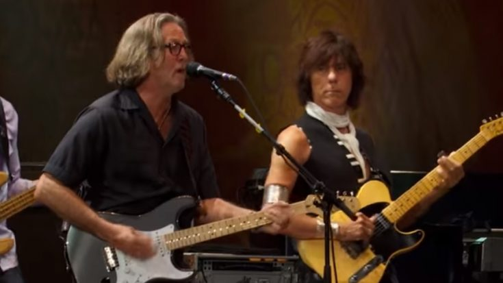 Watch Eric Clapton & Jeff Beck Perform 'Shake Your Moneym,aker' from Crossroads Guitar Festival | I Love Classic Rock Videos