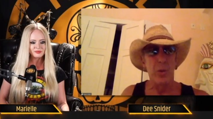 Dee Snider Prepares To Direct a New Horror Movie | I Love Classic Rock Videos