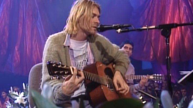 "Kurt Cobain's Guitar From ""MTV Unplugged"" Sells For $6 million 